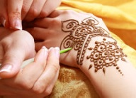 Henna Art at Healing Muscle Therapies